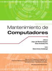Portada del Libro Mantenimiento de Computadores