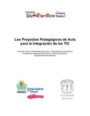 Portada del Libro Los Proyectos Pedaggicos de Aula para la Integracin de las TIC