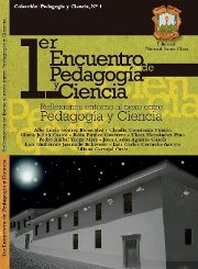 Portada Libro Reflexiones en torno al nexo entre Pedagoga y Ciencia